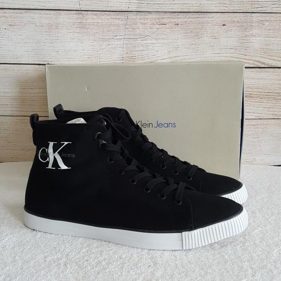New Calvin Klein Arthur Canvas Sneakers